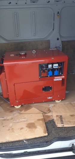 Perkins generator 18.5 kVA
