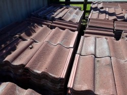 Redland Grovesbury Red roof tiles