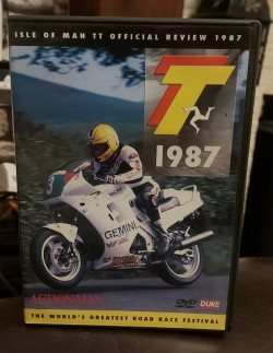 Isle Of Man TT Official Review 1987 dvd
