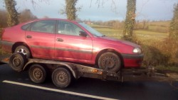 Toyota avensis td wanted