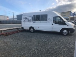 Coffee van to rent with Patch