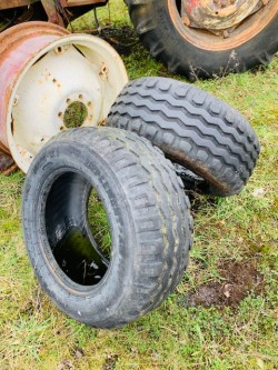 Trailer Tyres (2). 10 75 15.3.