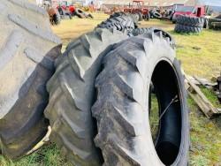 Single Tyres. 420 70 28. Good tread.
