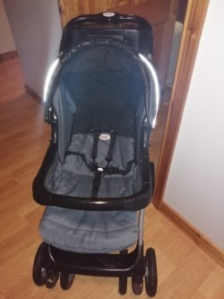 BRITAX Travel System Pram/Buggy With Footmuff Very Good Condition