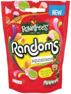 Rowntrees Randoms Squish ems Hanging Bag