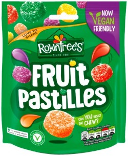 Rowntrees Fruit Pastilles Hanging Bag