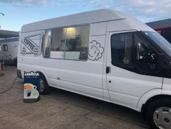 Coffee van to rent with Patch in Derry and Letterkenny