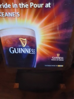 Light up Guinness Sign