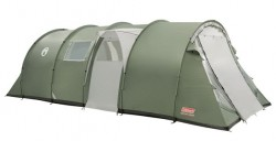 Coleman Coastline 8 man Deluxe Tent 4 Double Bedrooms-Sleeps 8-12 people AS NEW