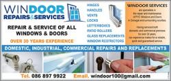 Windoor Repairs & Services