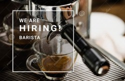 Full time and part time Baristas wanted