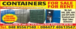 Containers For Sale and For Rent