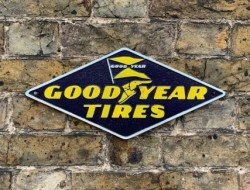 Goodyear Sign - Cast Iron