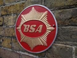BSA Sign - Cast Iron