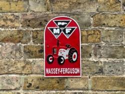 Massey Ferguson Sign Cast Iron