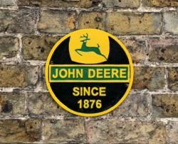 John Deere Sign - Cast Iron