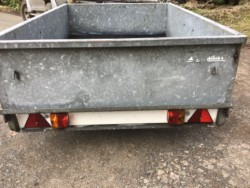 Galvanised Car Trailer