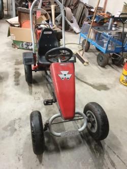 Massey Ferguson pedal go kart