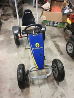New Holland pedal go kart