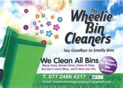 Wheelie bin cleaning in co Armagh