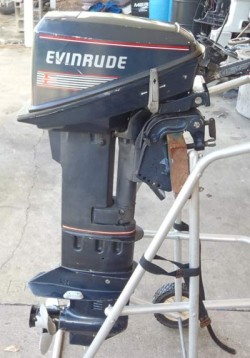 EVINRUDE 9.9hp 2 stroke outboard engine