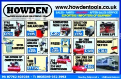 Howden Tools & Garage Equipment Ltd.