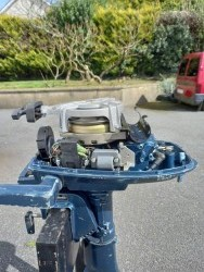 Yamaha 4hp 2 stroke outboard motor