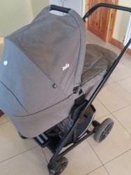 Joie 3 in one Pram with isofix base