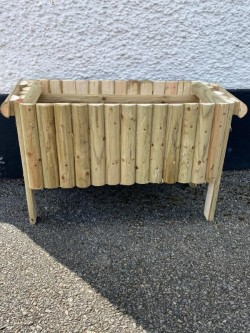 Flower planter boxes