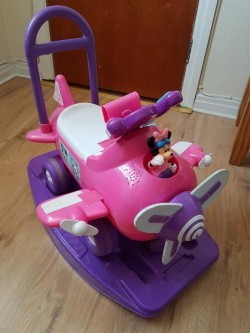Minnie Mouse Ride on Rocker. Complete with sounds.