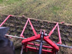 Chain harrowing services available