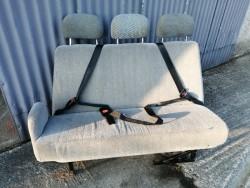 Campervan 3 belted seats