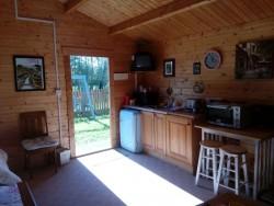 log cabin for holiday rental