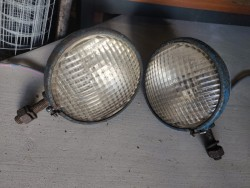 Pair Headlights. 1