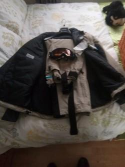 Ski Suit & Goggles
