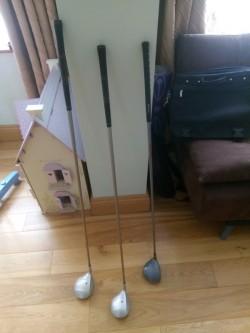 Golf Clubs 2 Ladies 1 Childs