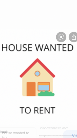 House to rent wanted