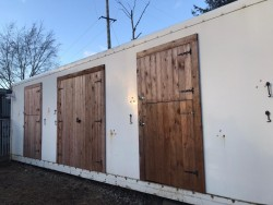 Stable conversion for outdoor animals