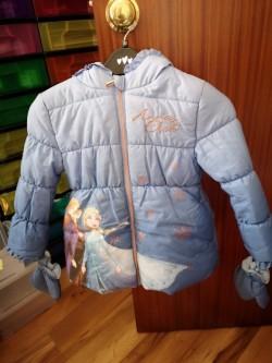 Anna and Elsa Disney Coats.