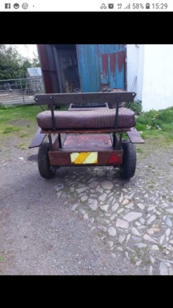 For sale pony exercise cart