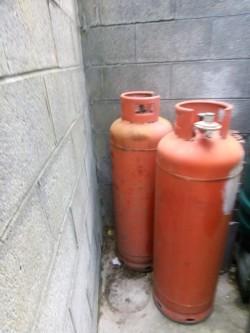 LPG Cylinders x 2, 47KG