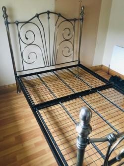 Beautiful Metal Frame Bed