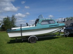 17ft Boat and Trailer