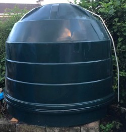 Oil tank good condition (changed for bunded)