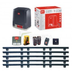 Complete Sliding gate system 400kg with 5m.of rack