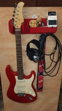 For sale guitar hanger/shelf