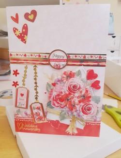 Handmade personalised cards