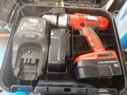 Black and decker industrial cordless drill