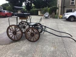 Fenix 4 wheel Horse Cart