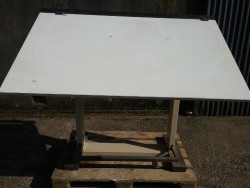 Large industrial drawing board